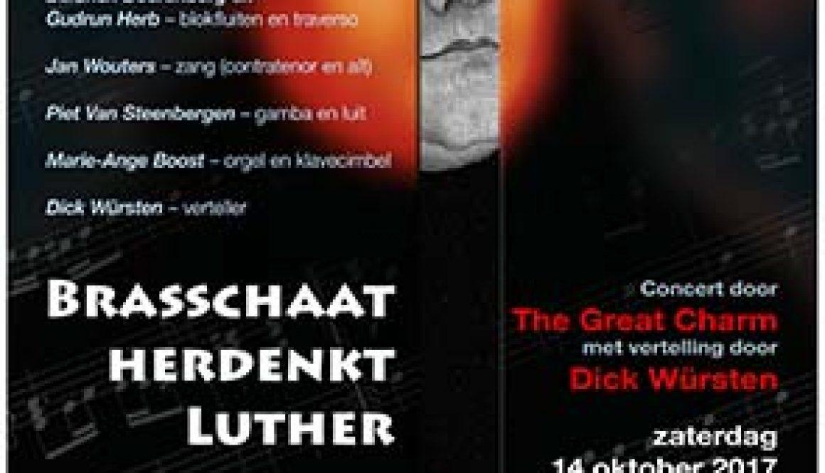 Affiche - Brasschaat herdenkt Luther1
